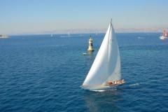 Eileen - 12mCr classic sailing yacht - above
