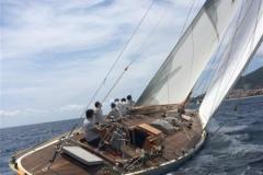 Eileen - 12mCr classic sailing yacht - stern