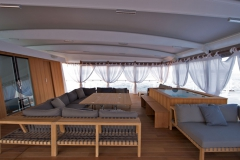 Mystere Shadow - 50m shadow yacht refit - lounge
