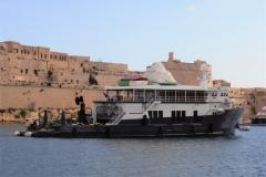 Mystere Shadow - 50m shadow yacht refit - malta