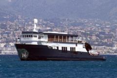 Mystere Shadow - 50m shadow yacht refit - profile