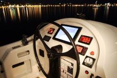 Allures - performance cruising catamaran - helm station