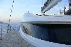 Allures - performance cruising catamaran - lines