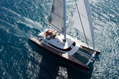 Allures - performance cruising catamaran - top sailing