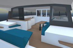 AM42-charter-sailing-catamaran-Presentation-Aft-Cockpit-stbd