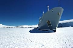 Enigma xK- exploration yacht - Antarctica