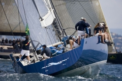 Magic Blue - performance sailing yacht - stern