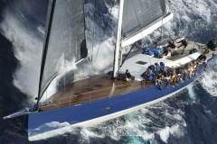 Magic Blue - performance sailing yacht - wet sailing