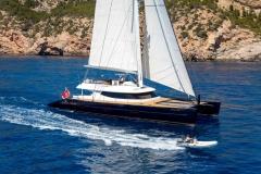 MashuaBluu - sailing catamaran - cruising