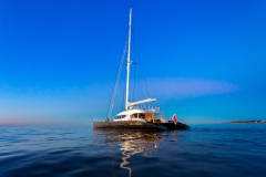 MashuaBluu - sailing catamaran - sea
