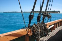 Nofy Be - traditional gaffed rig schooner - rig