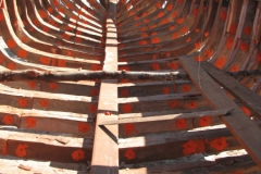 Nofy Be - traditional gaffed rig schooner - structure