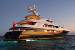 Pestifer - 65m motor yacht - stern