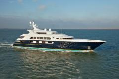 Pestifer - 65m motor yacht - trials 1