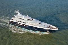Pestifer - 65m motor yacht - trials 2
