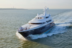 Pestifer - 65m motor yacht - trials 3