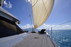 Rafoly - sailing catamaran - deck