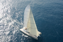 Rafoly - sailing catamaran - sail