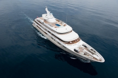 Reborn - motor yacht refit - bow