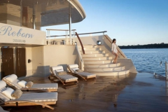 Reborn - motor yacht refit - swimplatform