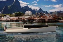 Turbocraft Silverfin - pocket explorer yacht - lofoten