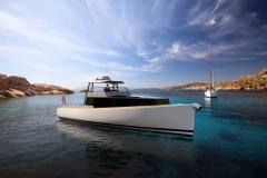 Turbocraft Silverfin - pocket explorer yacht - mediterranean
