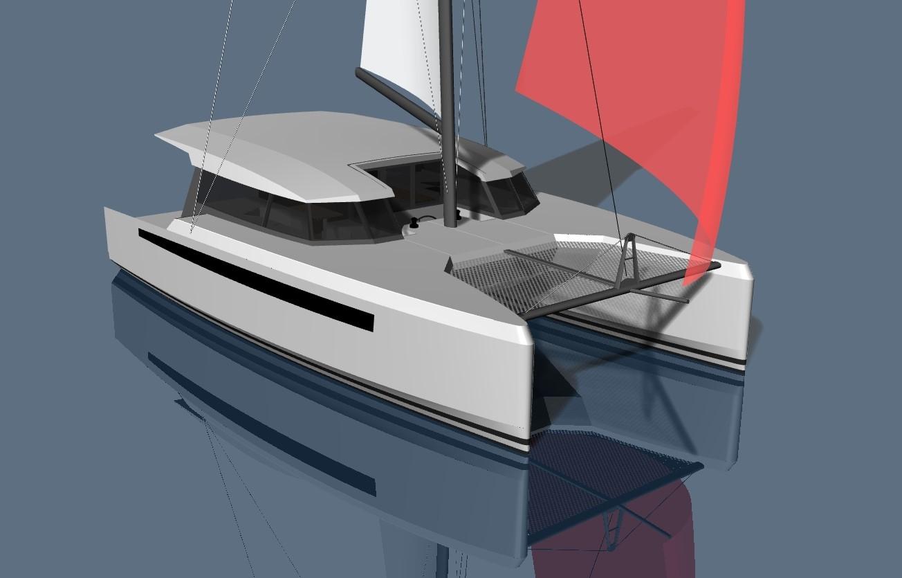 CHARTERCAT 42 – 12m Cruising Sailing Catamaran