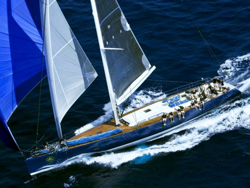 MAGIC BLUE – 28M Pereformance Sailing Yacht