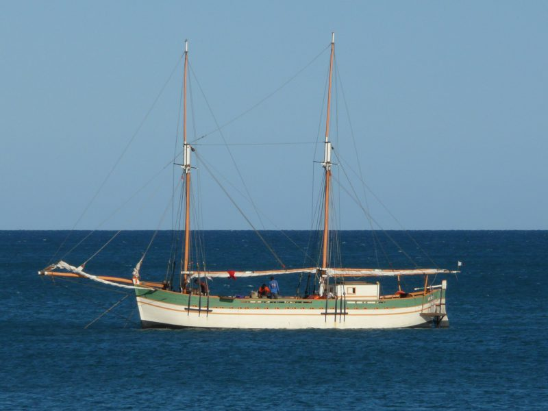 NOFY BE – 23m Traditional Gaffed Rig Schooner