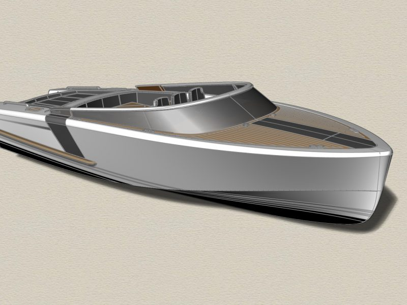 THUNDERCLAP – 12m Fast Luxury Day Boat