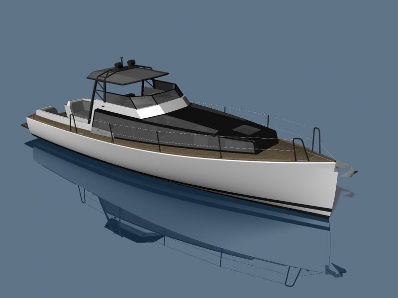 SILVERFIN – 12m Pocket Explorer Yacht