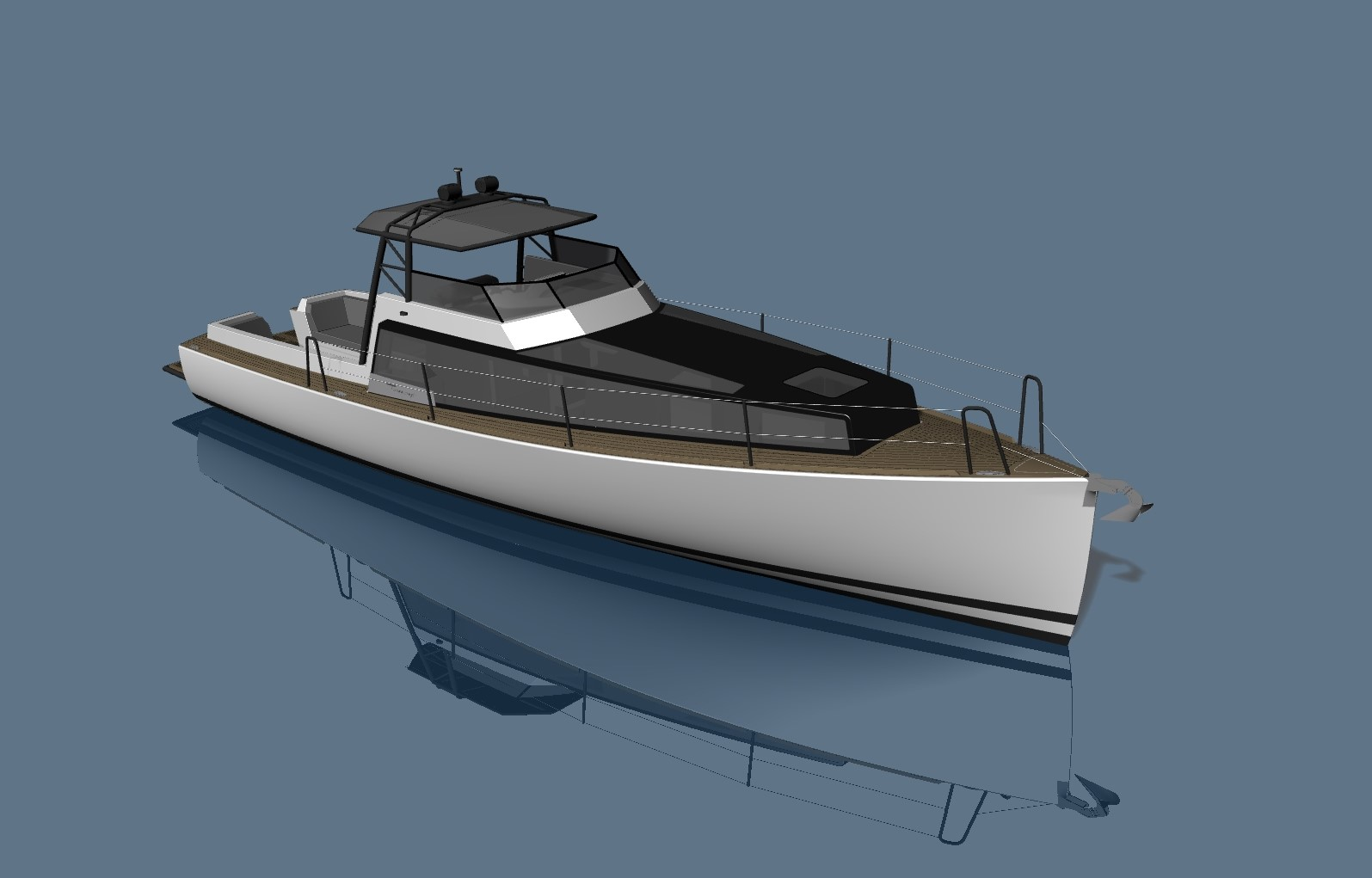 SILVERFIN – 12m Pocket Explorer Yacht